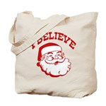 I Believe Santa Tote Bag