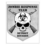 Zombie Response Team: Detroit Small Poster