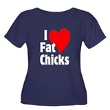 I Love Fat Chicks Chubby Chaser T
