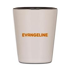 Evangeline in Movie Lights Shot Glass
