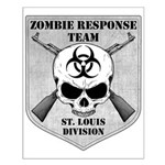 Zombie Response Team: St Louis Small Poster