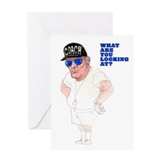 Thanks Coach, You Big Lug! Greeting Card