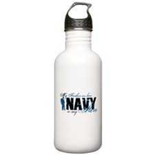 Father Law Hero3 - Navy Water Bottle