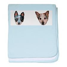 Australian Cattle Dog Mug baby blanket