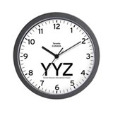 Toronto YYZ Airport Newsroom Wall Clock