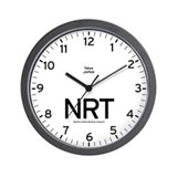 Tokyo NRT Airport Newsroom Wall Clock