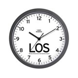 Lagos LOS Airport Newsroom Wall Clock