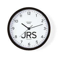 Jerusalem JRS Airport Newsroom Wall Clock