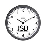 Islamabad ISB Airport Newsroom Wall Clock