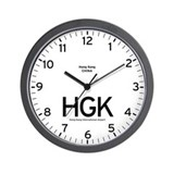 Hong Kong HGK Airport Newsroom Wall Clock