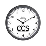 Caracas CCS Airport Newsroom Wall Clock