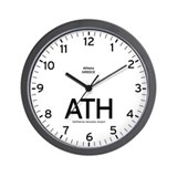 Athens ATH Airport Newsroom Wall Clock