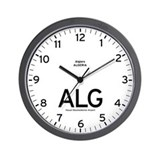 Algiers ALG Airport Newsroom Wall Clock