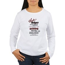 Hunter's Helper - White (1) T-Shirt