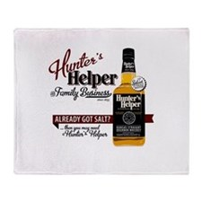 Hunter's Helper - White (2) Throw Blanket