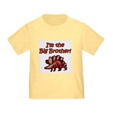 Big Brother Brown Dinosaur T