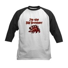 Big Brother Brown Dinosaur Tee