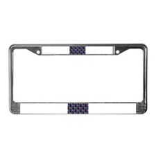 Abstract License Plate Frame