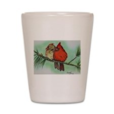 Cardinals Shot Glass