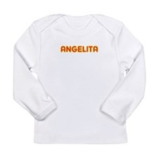 Angelita in Movie Lights Long Sleeve Infant T-Shir