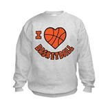 I Love Basketball Sweatshirt