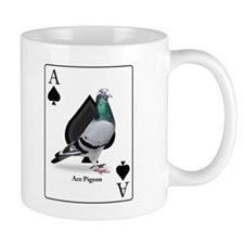 Ace of Spades Racing Pigeon - Regular Coffee Mug
