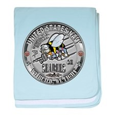 Seabees Construction Electric baby blanket