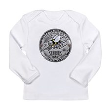 Seabees Construction Electric Long Sleeve Infant T