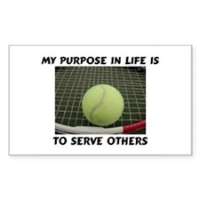 Purpose is to Serve Rectangle Decal