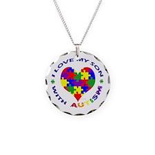 Cool Love autism Necklace