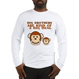 BIG BROTHER monkey Long Sleeve T-Shirt