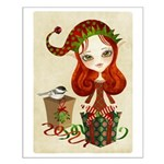 Jollybelle Christmas Elf Small Poster
