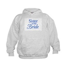 Sister of the Bride (blue) Hoodie