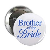 Brother of the Bride (blue) Button