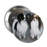 "Papillon & Phalene 2.25"" Button (10 pack)"