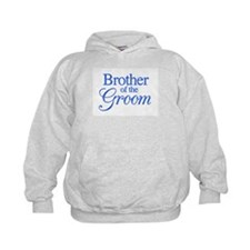 Brother of the Groom (blue) Hoodie