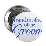 Grandmother of the Groom (blu Button