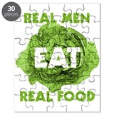 Real Men Eat Real Food Puzzle