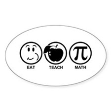 Math Teacher Decal