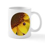 Ladybugs on Flowers Mug