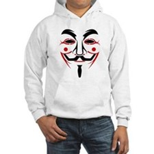 Guy Fawkes - Anonymous Mask Hoodie