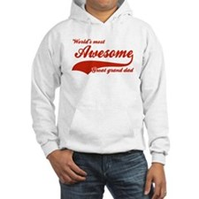World's Most Awesome Great Grand dad Hoodie