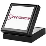 Groomsman (wine) Keepsake Box