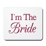 Bride (wine) Mousepad