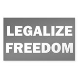 Legalize Freedom Decal
