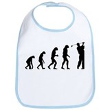 Evolution golfing Bib
