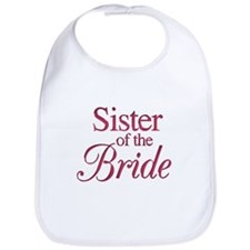Sister of the Bride (wine) Bib