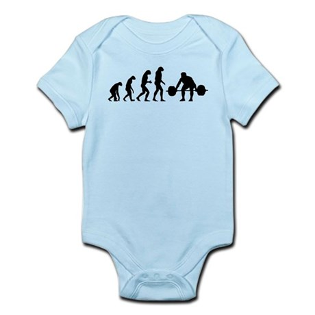 Evolution weight lifting Infant Bodysuit