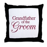 Grandfather of the Groom (win Throw Pillow