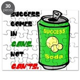 Success Comes in Cans Puzzle